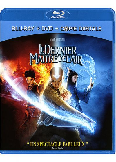 Le Dernier maître de l'air (Combo Blu-ray + DVD + Copie digitale) - Blu-ray