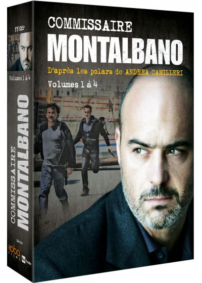 Commissaire Montalbano - Volumes 1 à 4 - DVD