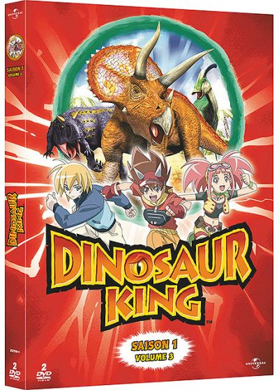 Dinosaur King - Saison 1 - Volume 3 - DVD