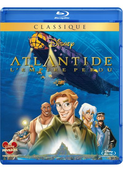 Atlantide, l'empire perdu - Blu-ray