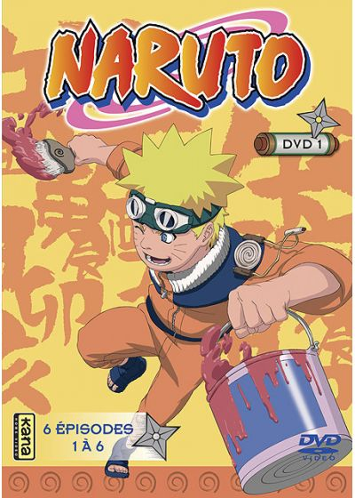Naruto Edited - Vol. 1 - DVD