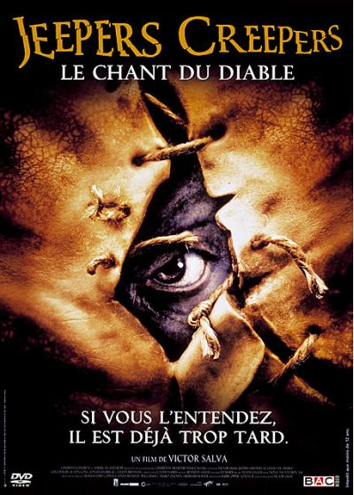Jeepers Creepers - Le chant du diable - DVD