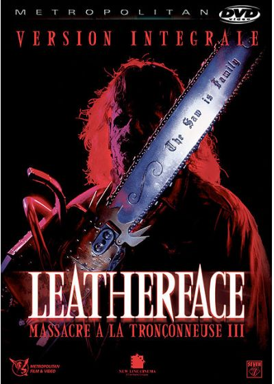 Leatherface : Massacre à la tronçonneuse III (Version intégrale) - DVD