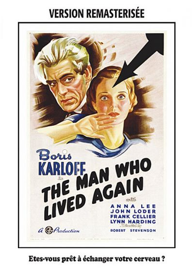 The Man Who Lived Again - Cerveau de rechange (Édition remasterisée) - DVD