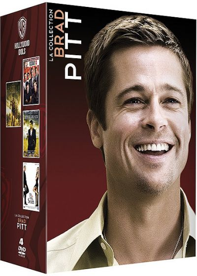 La Collection Brad Pitt : Troie + L'assassinat de Jesse James par le lâche Robert Ford + Mr. & Mrs. Smith + Ocean's 13 (Pack) - DVD