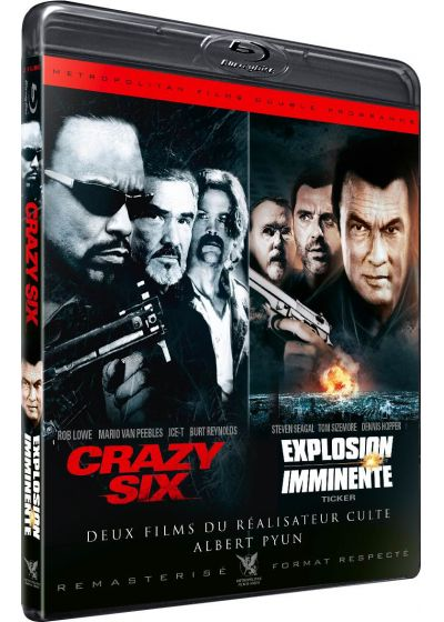 Crazy Six + Explosion imminente (Édition remasterisée) - Blu-ray