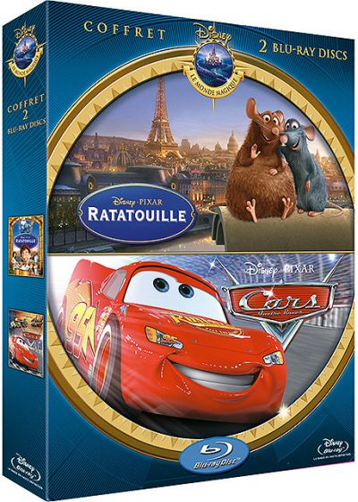 Ratatouille + Cars (Pack) - Blu-ray