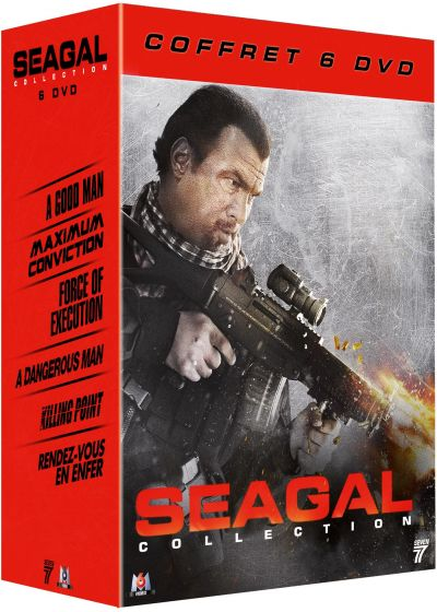 Steven Seagal - Coffret 6 films : Maximum Conviction + Force of Execution + Killing Point + Dangerous Man + Rendez-vous en enfer + A Good Man (Pack) - DVD