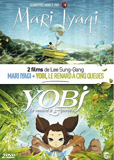 Coffret Lee Sung-Gang : Mari Iyogi + Yobi, le renard à cinq queues - DVD
