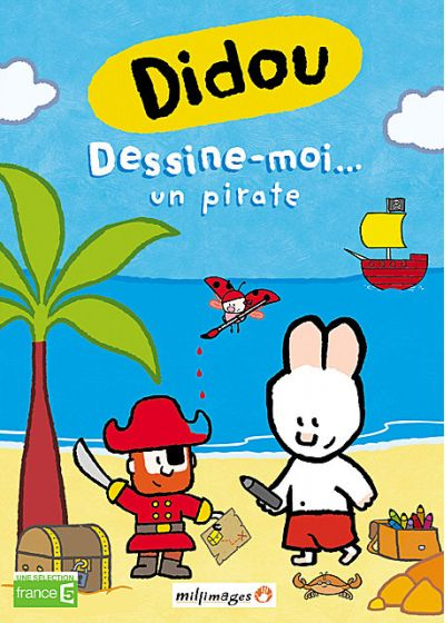 Didou - Vol. 8 : Dessine-moi... un pirate - DVD