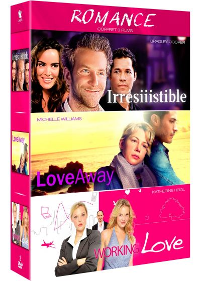 Romance : Working Love + Love Away + Irrésiiistible ! (Pack) - DVD