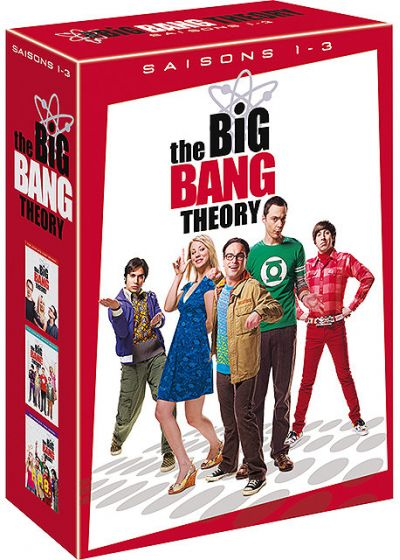 The Big Bang Theory - Saisons 1-3 - DVD