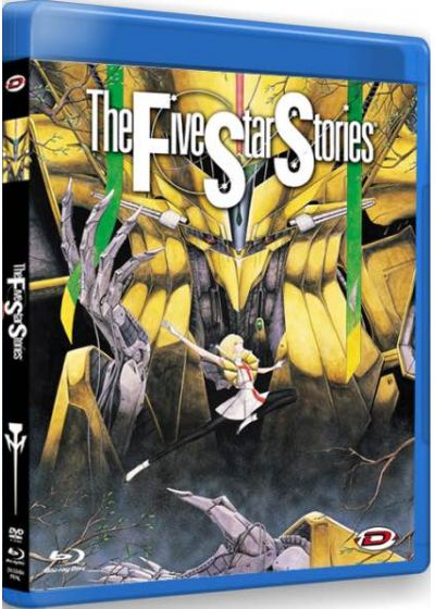 The Five Star Stories (Combo Blu-ray + DVD) - Blu-ray