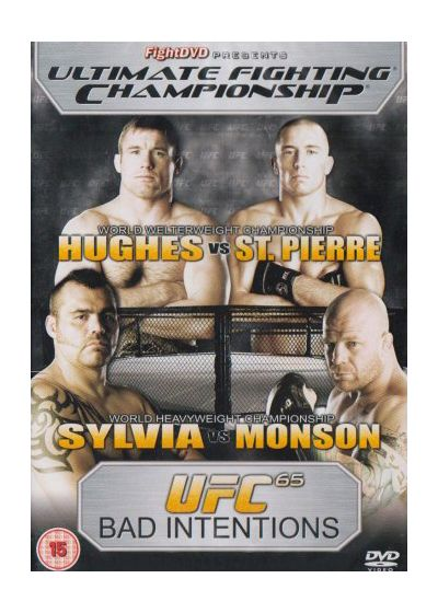 UFC 65 : Bad Intentions - DVD