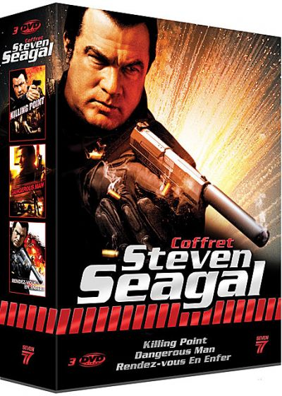 Steven Seagal : Killing Point + Dangerous Man + Rendez-vous en enfer (Pack) - DVD