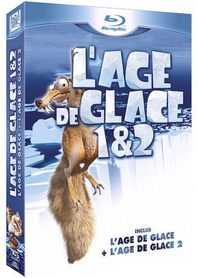 L'Âge de glace 1 + 2 (Pack) - Blu-ray