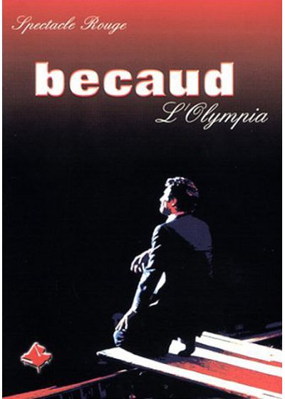 Gilbert Bécaud - L'Olympia - Spectacle Rouge - DVD