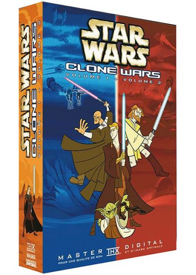 Star Wars - Clone Wars - Vol. 1 + 2 (Pack) - DVD