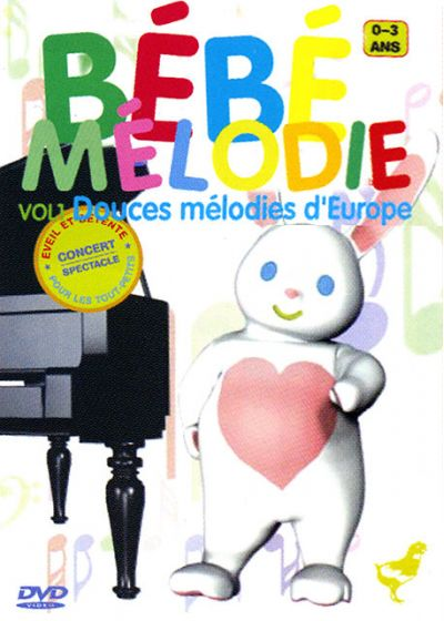 Bébé Mélodie - Douces mélodies d'Europe Vol. 1 - DVD