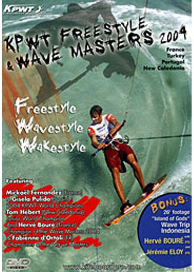 Kiteboard Pro World Tour - Freestyle & Wave Masters 2004 - DVD