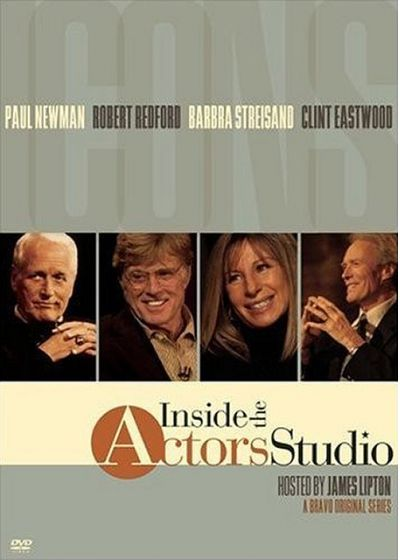 Inside the Actors Studio - Icons - Paul Newman + Robert Redford + Barbra Streisand + Clint Eastwood - DVD