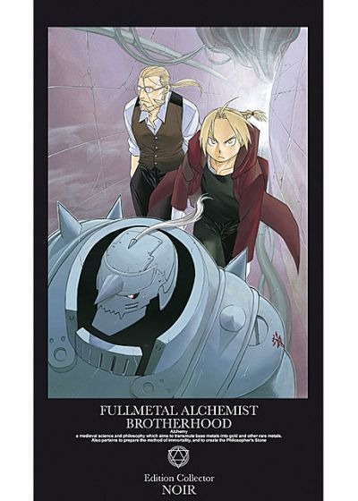 Fullmetal Alchemist : Brotherhood - Intégrale Partie 2 (Limited Edition Box Noir) - DVD