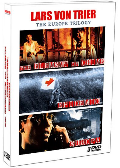 Lars von Trier - The Europe Trilogy : The Element of Crime + Epidemic + Europa - DVD