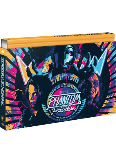 Phantom of the Paradise (Édition Coffret Ultra Collector - Blu-ray + DVD + Livre) - Blu-ray