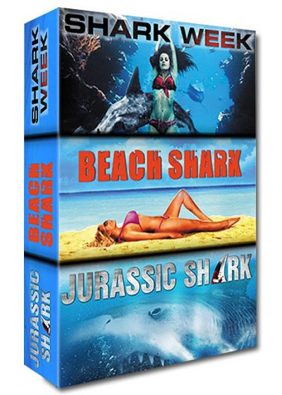 Requin - Coffret 3 films : Shark Week + Beach Shark + Jurassic Shark (Pack) - DVD