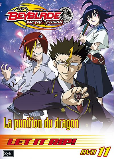 Beyblade Metal Fusion - Vol. 11 : La punition du Dragon - DVD