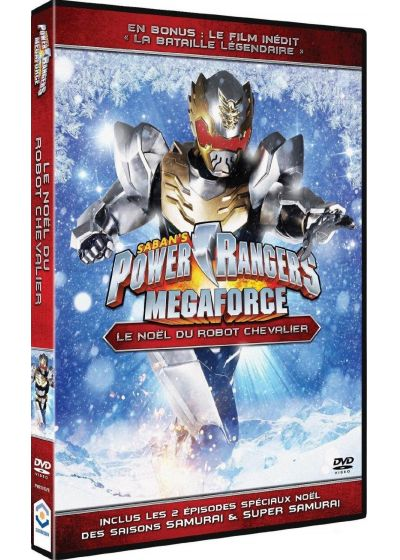 Power Rangers Megaforce - Vol. 1 : Le Noël de Robo-Chevalier - DVD