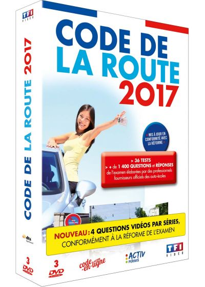 dvdfr code de la route 2017 dvd interactif dvd. Black Bedroom Furniture Sets. Home Design Ideas