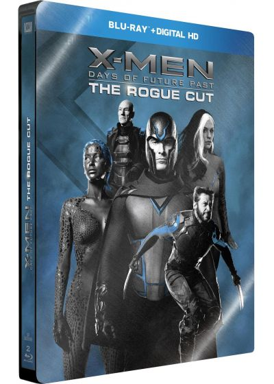 X-Men : Days of Future Past (Édition Limitée Rogue Cut boîtier SteelBook) - Blu-ray