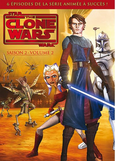 Star Wars - The Clone Wars - Saison 2 - Volume 2 - DVD