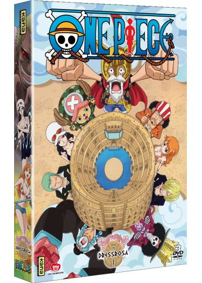 One Piece - Dressrosa - Vol. 1 - DVD