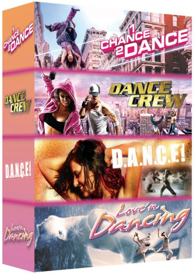 Dance n° 2 : Dance ! + Love'n Dancing + Dance Crew + 1 Chance 2 Dance (Pack) - DVD