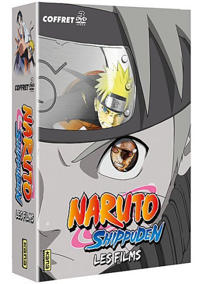 Naruto Shippuden - Les 3 films (Pack) - DVD