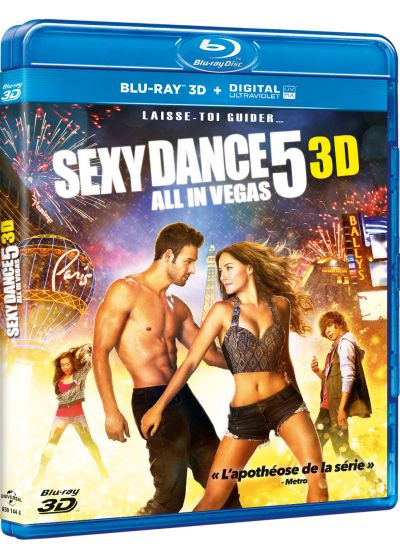 Sexy Dance 5 : All in Vegas (Blu-ray 3D + Copie digitale) - Blu-ray 3D