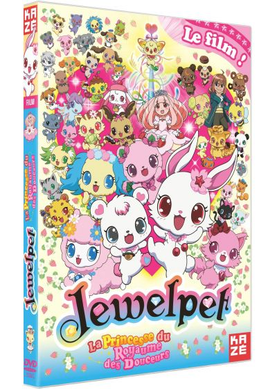 Jewelpet : Le Film - La Princesse du Royaume des Douceurs - DVD