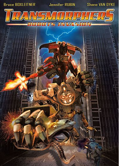 Transmorphers - Robots Invasion - DVD