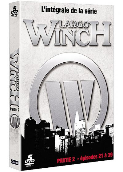 Largo Winch - Partie 2 : épisodes 21 à 39 - DVD