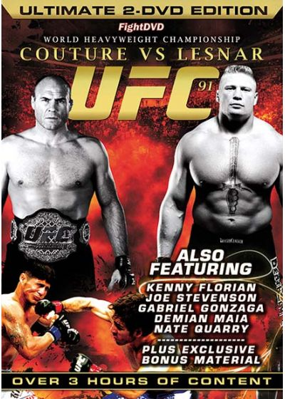 UFC 91 - Couture vs Lesnar - DVD