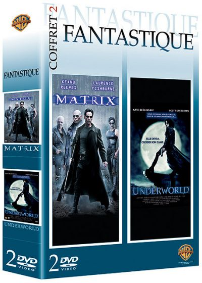 Coffret Fantastique - Matrix + Underworld - DVD