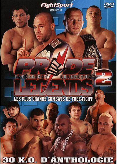 Pride Legends 2 - Free-Fight Collector - Les plus grands combats de Free-Fight - DVD