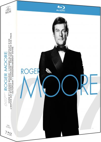 La Collection James Bond - Coffret Roger Moore (Pack) - Blu-ray