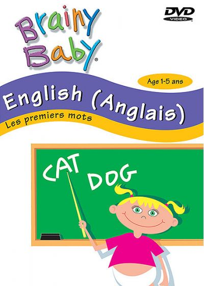 Brainy Baby - English (anglais) - Les premiers mots - DVD
