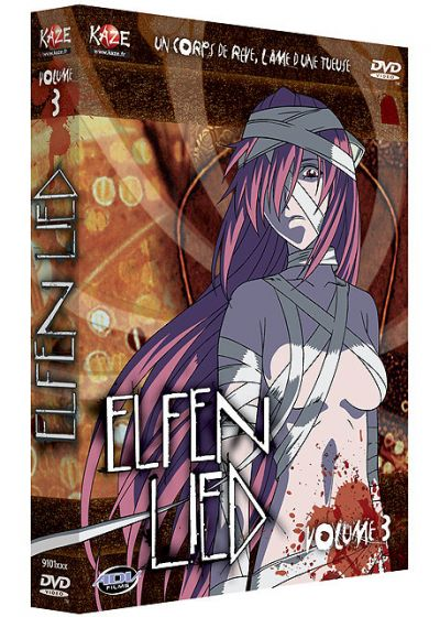 Elfen Lied - Vol. 3/4 - DVD