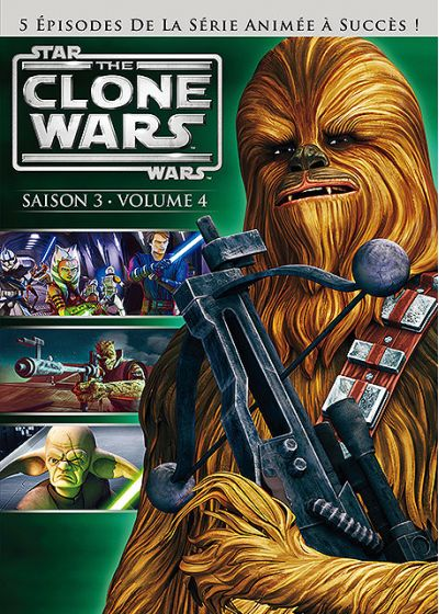 Star Wars - The Clone Wars - Saison 3 - Volume 4 - DVD