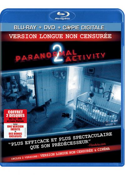 Paranormal Activity 2 (Combo Blu-ray + DVD + Copie digitale) - Blu-ray