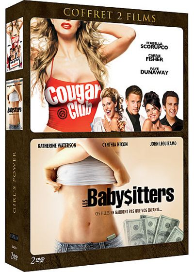 Girl Power : Cougar Club + Les Babysitters (Pack) - DVD